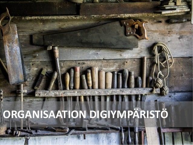 ORGANISAATION DIGIYMPÄRISTÖ