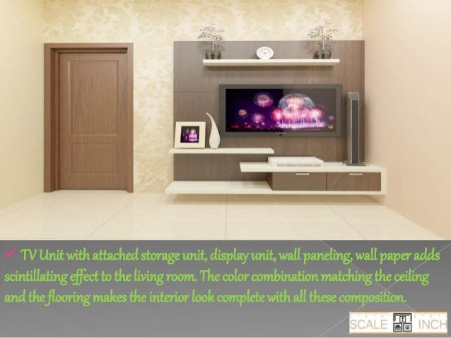 Tv unit design for living room india