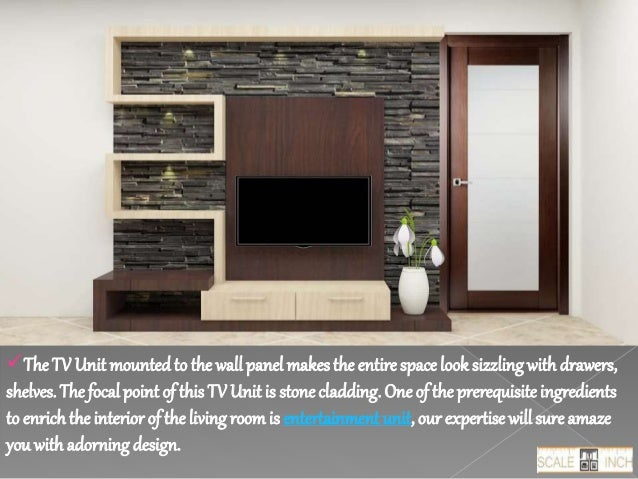 Buy Modern TV Unit Designs Online in India Bangalore Scale Inch