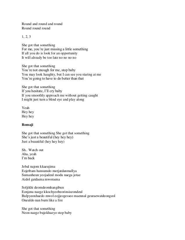 Lyric shes got you lyrics : Tvxq tense_ album full lyrics & translation
