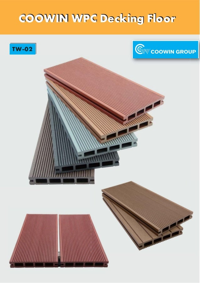 COOWIN WPC Decking FloorCOOWIN WPC Decking Floor TW-02