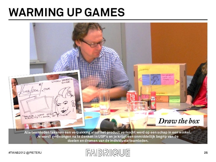 WARMING UP GAMES                                                                                     Draw the box        A...