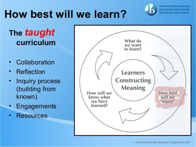 Twa curriculum
