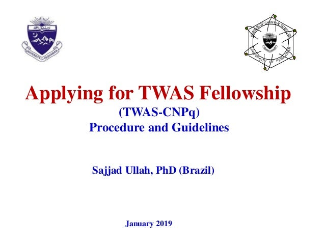 CNPq-TWAS Fellowships Brazil: Application Procedure and Guidelines