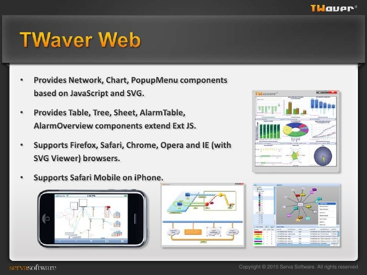 TWaver presentation in JavaOne 2010