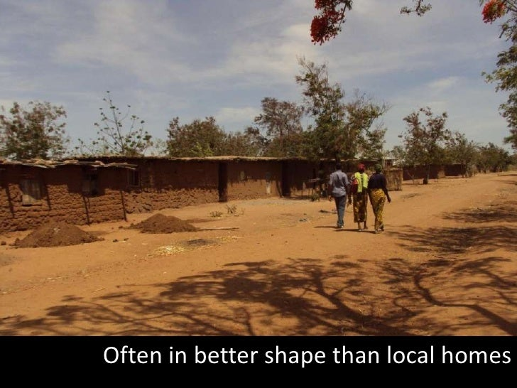 Often in better shape than local homes<br />