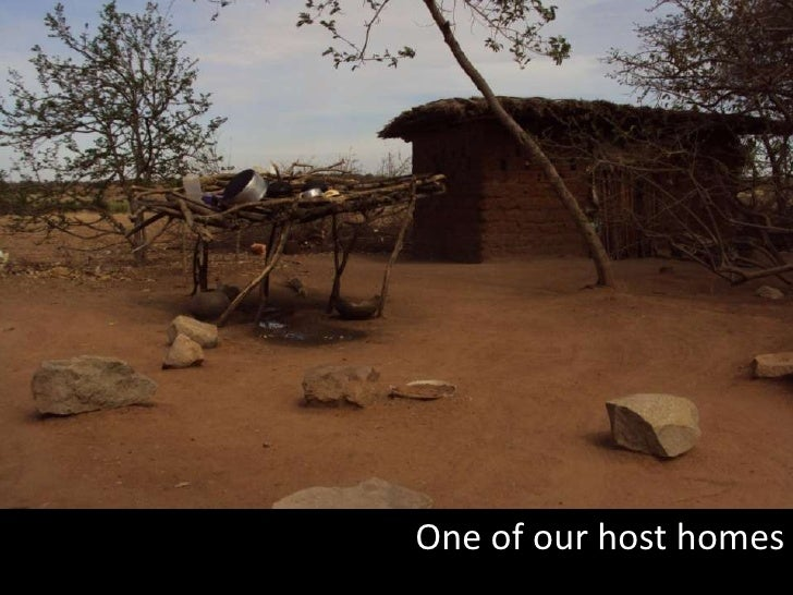 One of our host homes <br />