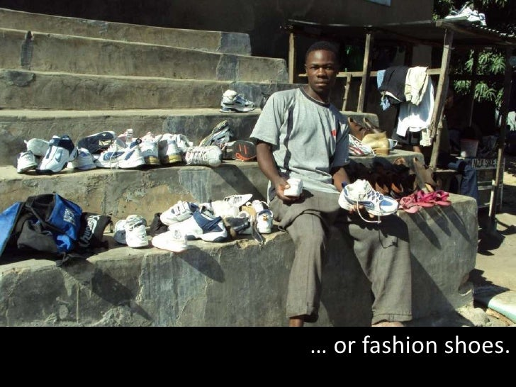 … or fashion shoes.<br />