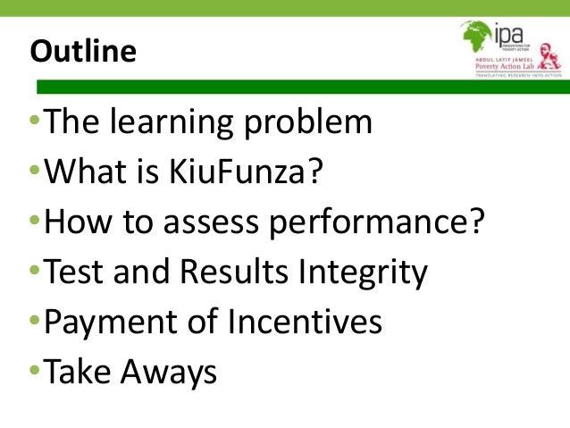 Presentation on the KiuFunza Initiative by Youdi Schipper of Twaweza Slide 2