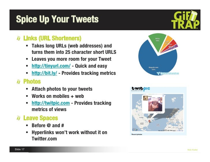 Spice Up Your Tweets Links