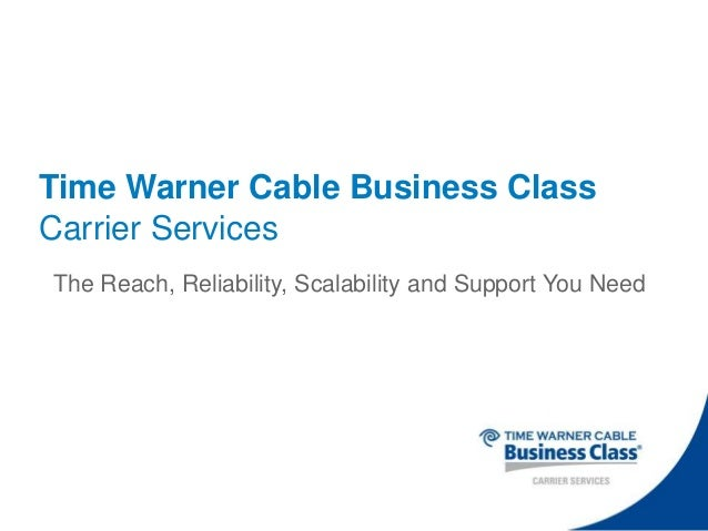 Time Warner Cable Support Texas: TWC Carrier Services Presentationrh:slideshare.net,Design