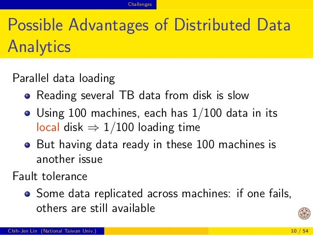 From data mining to big data  From Small to Big Data  Two important dierences:  Negative side:  Methods for big data analy...