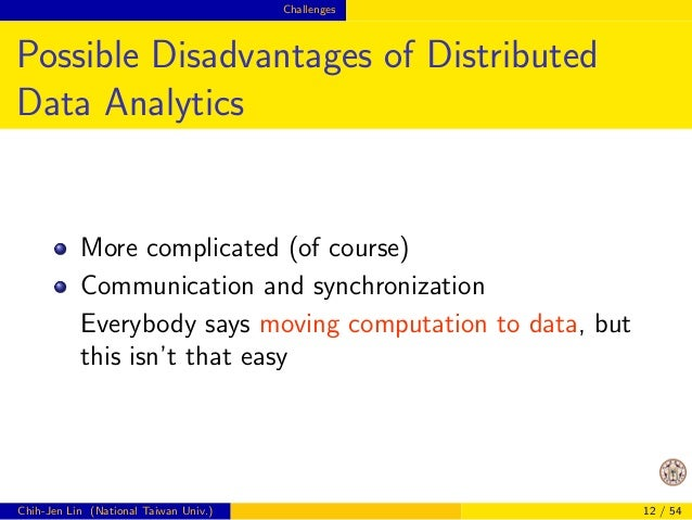 Challenges  Outline  1 From data mining to big data  2 Challenges  3 Opportunities  4 Discussion and conclusions  Chih-Jen...