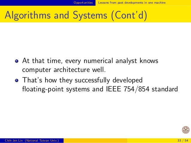 Opportunities Lessons from past developments in one machine  Example: Matrix-matrix Product (Cont'd)  How can Matlab be mu...
