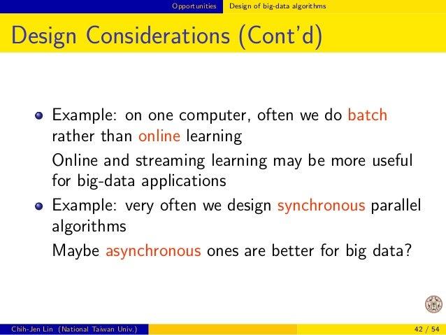 er on Spark  Spark is an in-memory cluster-computing platform  Beyond algorithms we must take details of  Spark  Scala  in...