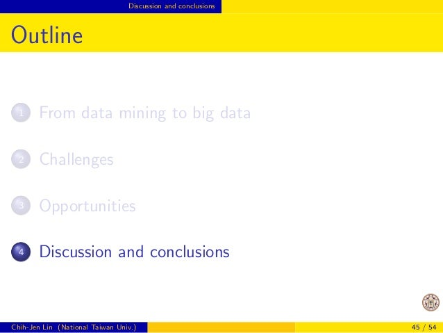 Opportunities Successful examples?  Outline  3 Opportunities  Lessons from past developments in one machine  Successful ex...