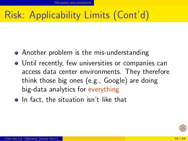 cation problem.  Chih-Jen Lin (National Taiwan Univ.) 38 / 54