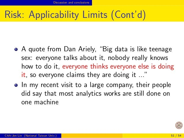 Opportunities Design of big-data algorithms  Design Considerations  Generally you want to minimize the data access and  co...
