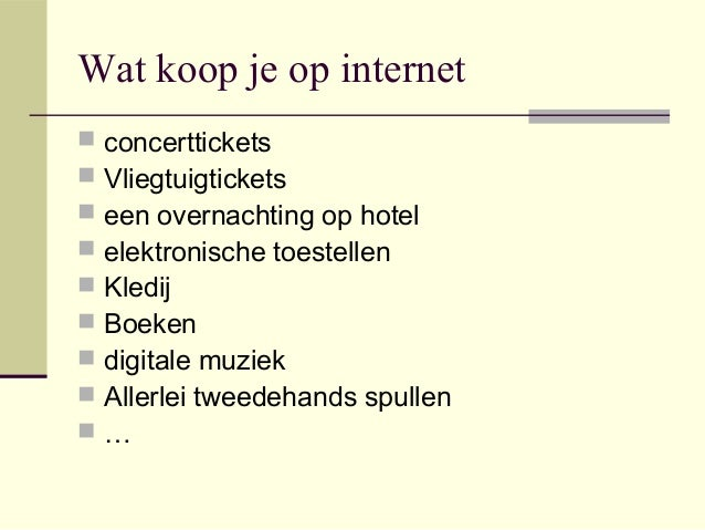 medicatie kopen via internet