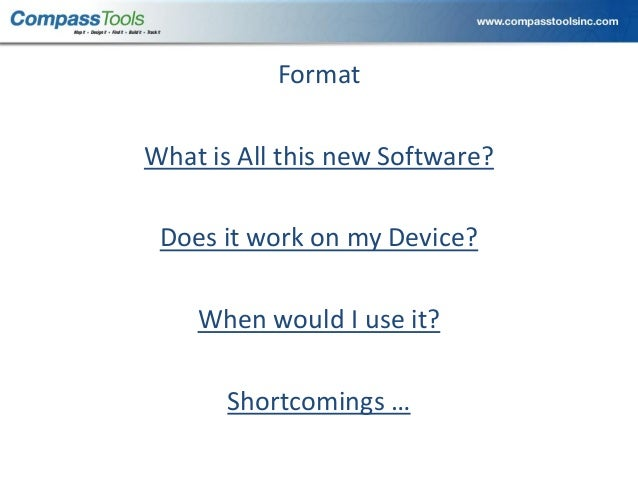 2013 URISA Track, What is All This New Software for GPS Mapping? by M…