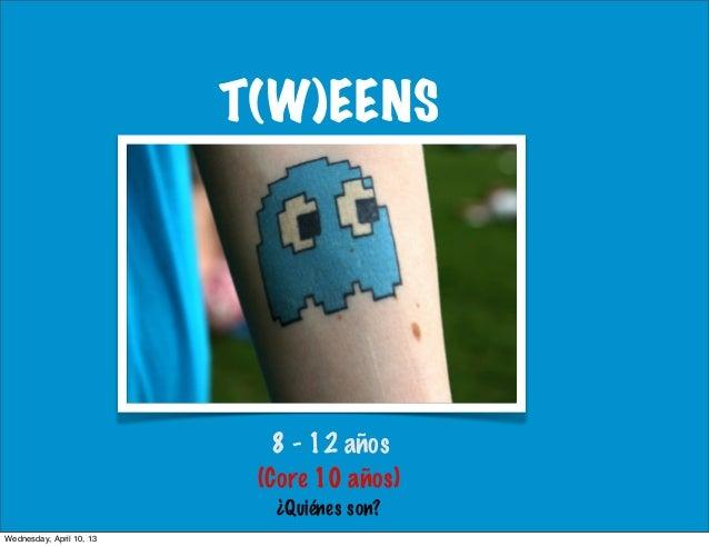 T(W)EENS                             8 - 12 años                           (Core 10 años)                            ¿Quié...