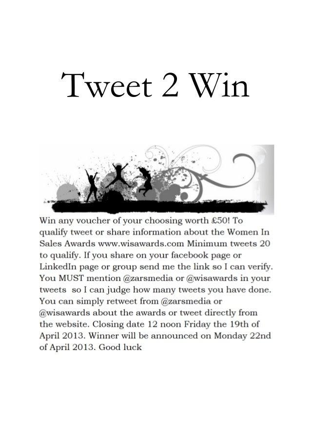 Tweet 2 Win