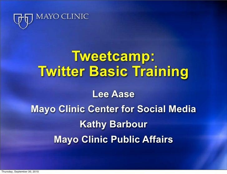 Tweetcamp