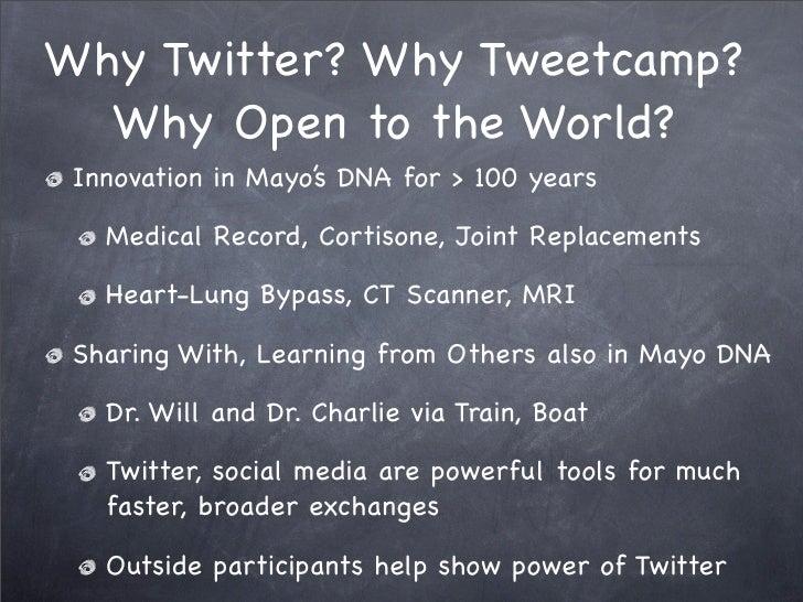 Tweetcamp III Slide 3