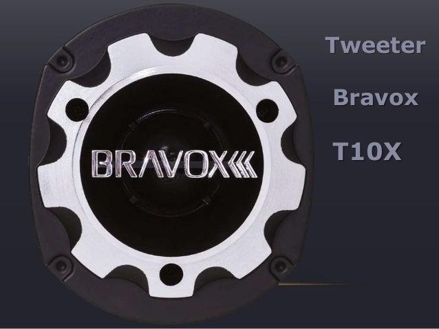 Tweeter Bravox T10X