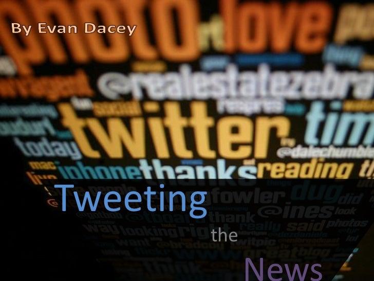 Tweeting           the