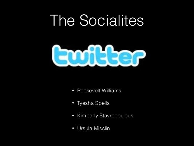 The Socialites • Roosevelt Williams • Tyesha Spells • Kimberly Stavropoulous • Ursula Misslin