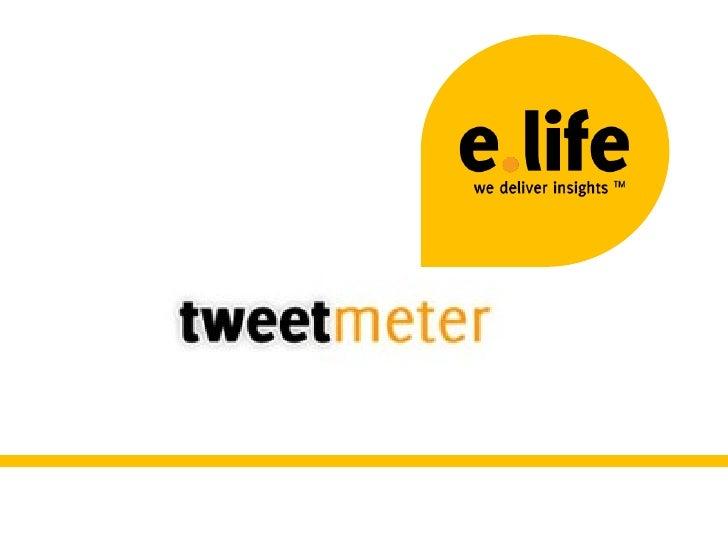 Tweetmeter - UK Slide 1