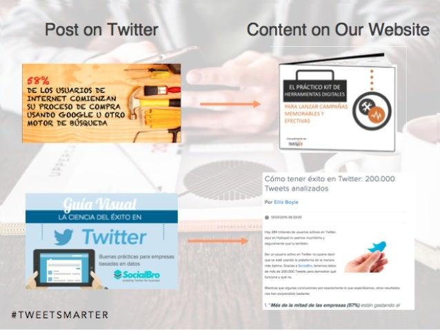 # T W E E T S M A R T E R Content on Our WebsitePost on Twitter