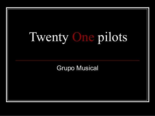 Twenty One pilots Grupo Musical