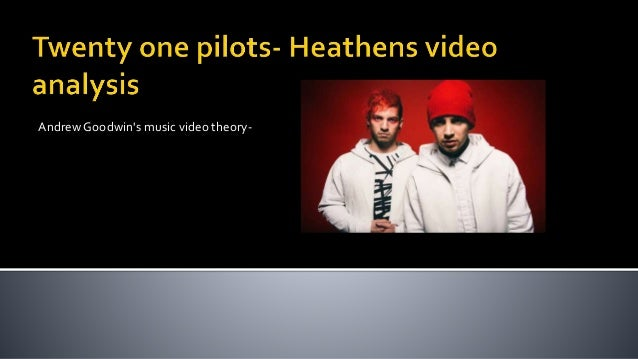 Andrew Goodwin's music video theory-