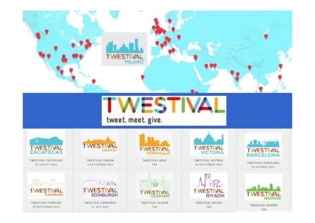In tutto il Mondo e per la seconda volta anche a Milano torna il TWESTIVAL 2011 2013