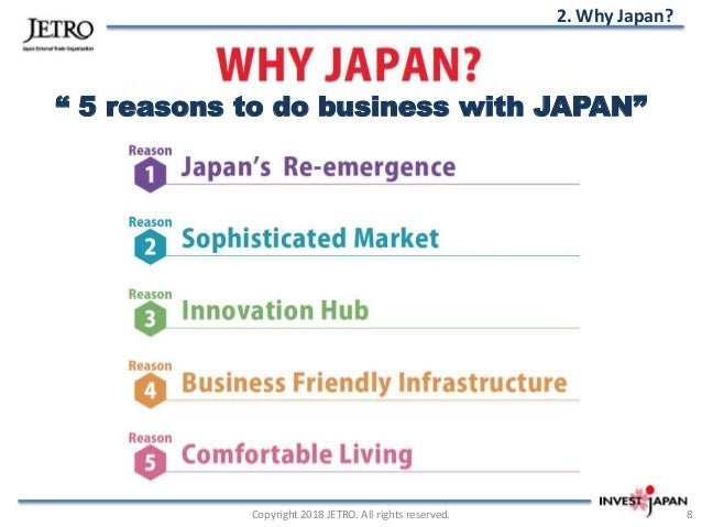 Why Japan? 5 reasons to invest Japan