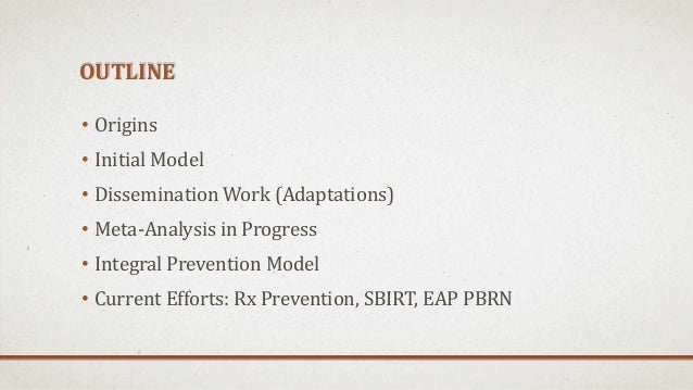 Three Approaches to Workplace Alcohol, Drug, and Rx Prevention: 20 Years of Research to Practice Slide 3