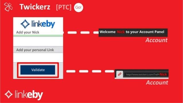 Linkeby - Create Account Twickerz Group (ENG)