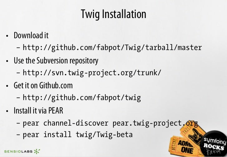 Twig the flexible fast and secure template language for php for Twig template variables