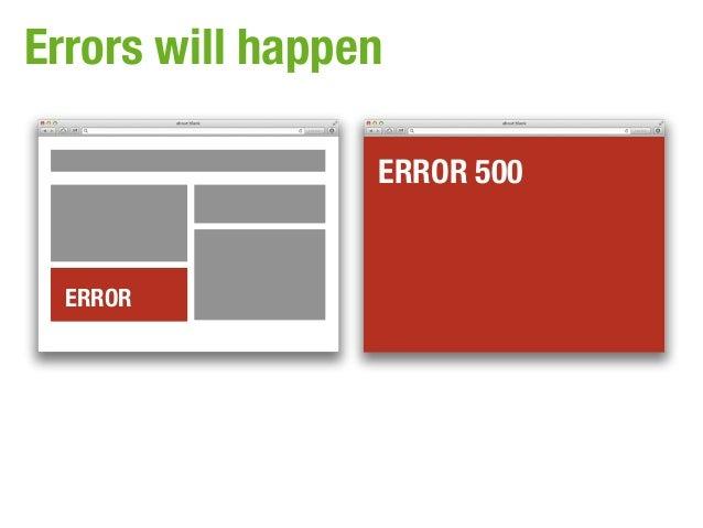 Errors will happen                 ERROR 500  ERROR