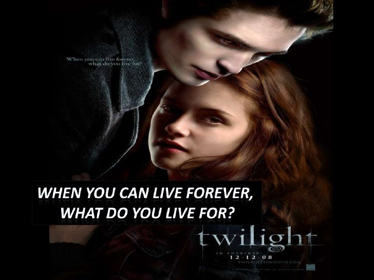 Whenyoucanliveforever, <br />What do youlive for?<br />
