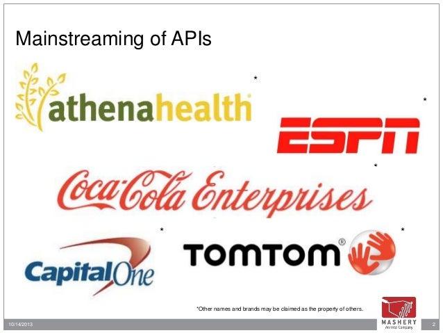 TwilioCon 2013 API Panel with Capital One, ESPN, Accenture, Mashery Slide 2
