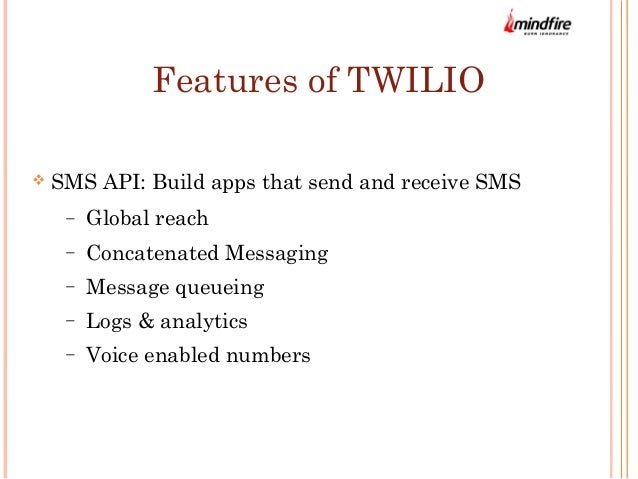 Twilio API: Build SMS Text Message Into Web Apps