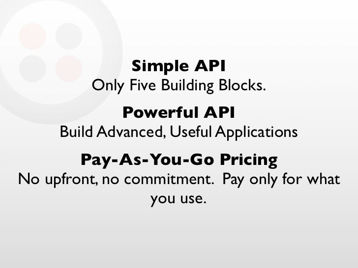 Simple API           Only Five Building Blocks.               Powerful API      Build Advanced, Useful Applications       ...