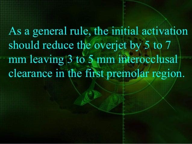 summary of bite registrationsummary of bite registration Inter incisal clearance 2mm In first premolar region 5-6mm Molar ...