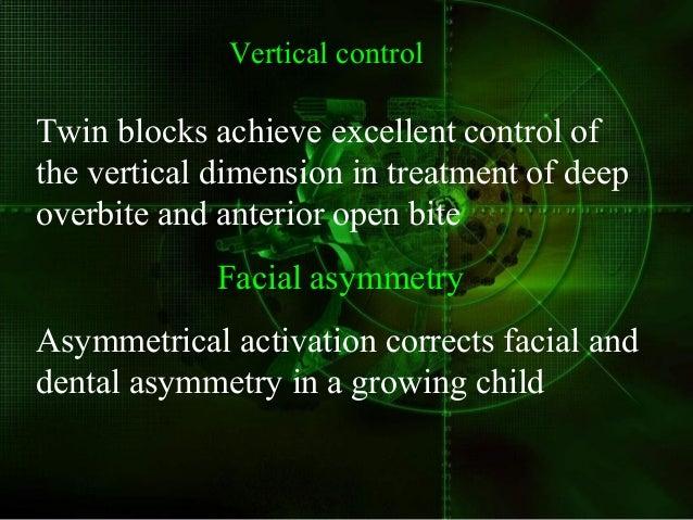 Twin blocks for TMJ dysfunction Effective as splints  TMJ dysfunction  Un favorable occlusal contacts eliminated  Simul...
