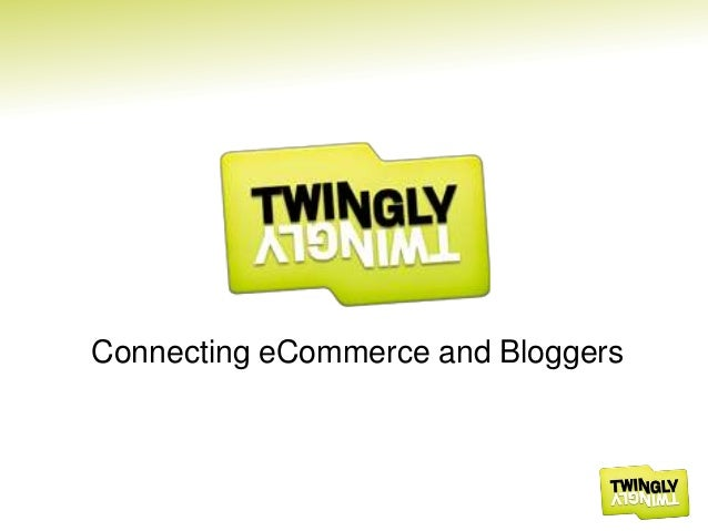 Connecting eCommerce and Bloggers