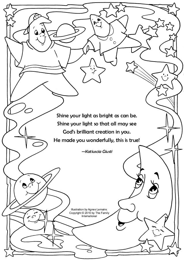 Coloring Page: Twinkle and Sparky