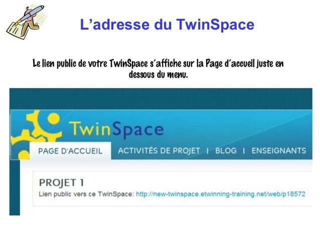 Twinspace 23  oct 2013 Slide 3
